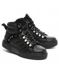 Ортопедические ботинки Theo Leo 1364 р. 31-40 Черные