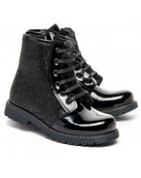 Ортопедические ботинки Theo Leo 1382 р. 28-36 Черные