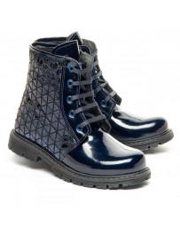 Ортопедические ботинки Theo Leo 1360 р. 28-36 Синие