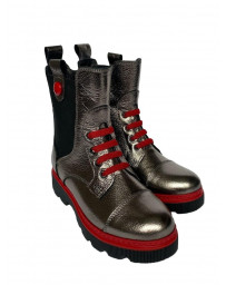Ортопедические ботинки Minimen 55SILVER р. 31-36 Серебро