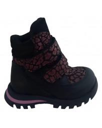 Ортопедические ботинки Perlina 91BORDO21 р. 22-26 Бордовый