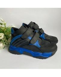 Ортопедические ботинки Perlina 32SINIY21 р. 31-36 Черно-синий
