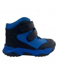 Ортопедические ботинки Perlina 107GOL21 р. 31-36 Черно-голубой