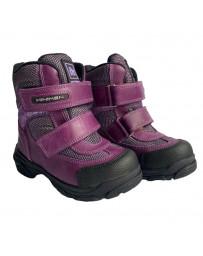 Зимние ботинки Minimen 15BUZOK р. 21-36 Сиреневый