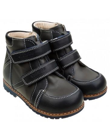 Ортопедические демисезонные ботинки 203 на флисе