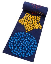 Массажный коврик ИГРОВОЙ с камушками 200x40