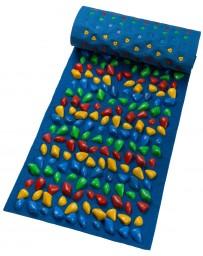 Массажный коврик с камушками «Ортопед» 150x40