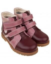 Ботинки 208 демисезонные на флисе, ортопедическая обувь для детей