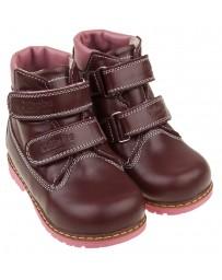Ботинки 209  ортопедические, зимние для девочек