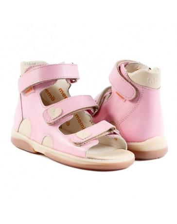 Детские ортопедические босоножки Memo Atena розовые