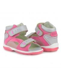 Детские ортопедические босоножки Memo Monaco розовые