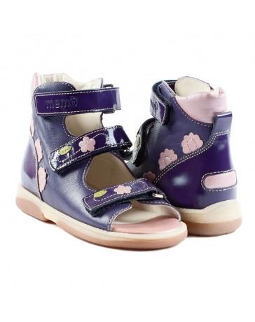 Детские ортопедические босоножки Memo Viki фиолетовые