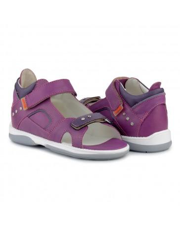 Детские ортопедические босоножки Memo Capri фиолетовые
