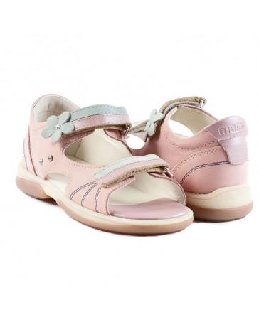 Детские ортопедические босоножки Memo Jaspis розовые