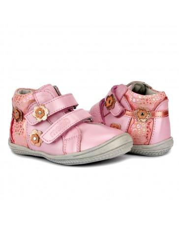 Детские ортопедические ботинки Memo Bella розовые