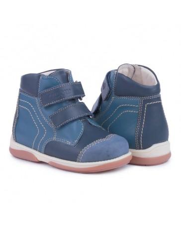 Детские ортопедические демисезонные ботинки Memo Karat синие