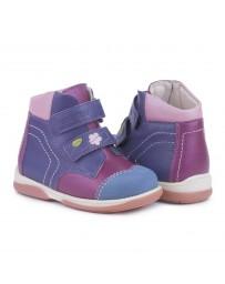 Детские ортопедические демисезонные ботинки Memo Karat фиолетовые