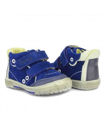 Детские ортопедические ботинки Memo Nodi синие
