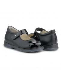 Ортопедические туфли для девочек Memo Cinderella черные
