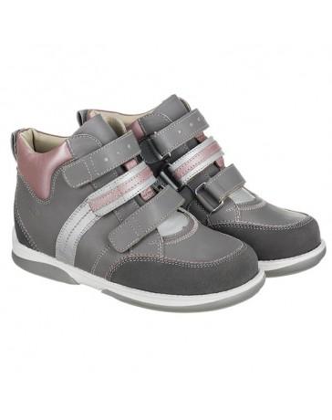 Ортопедические кроссовки для детей Memo Polo серые