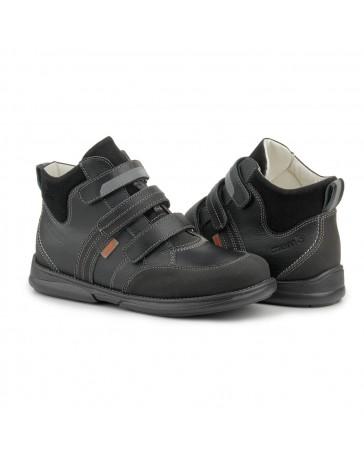 Ортопедические кроссовки для детей Memo Polo черные