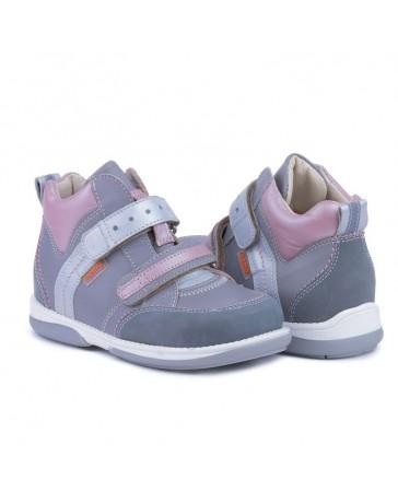 Ортопедические кроссовки для детей Memo Polo Junior серые