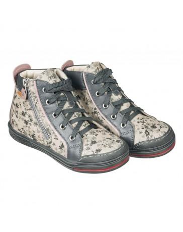 Ортопедические кроссовки для девочек Memo New York серые
