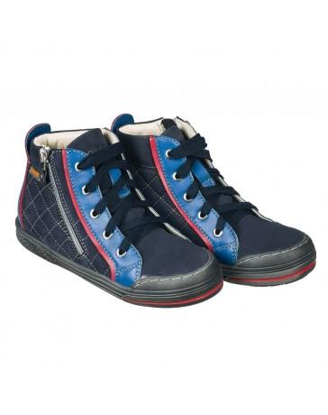Ортопедические кроссовки для девочек Memo New York синие