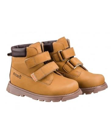 Детские ортопедические ботинки Memo Alex синие, с плоской стелькой