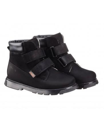 Детские ортопедические ботинки Memo Malmo коричневые, с плоской стелькой