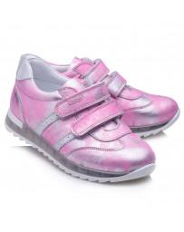 Ортопедические кроссовки Theo Leo RN870 р. 26-36 Бело-розовые