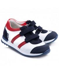 Ортопедические кроссовки Theo Leo RN866 р. 23-36 Бело-синие с красным