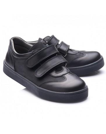 Ортопедические слипоны-кроссовки-туфли-мокасины Theo Leo RN768 р. 31-40 Черные