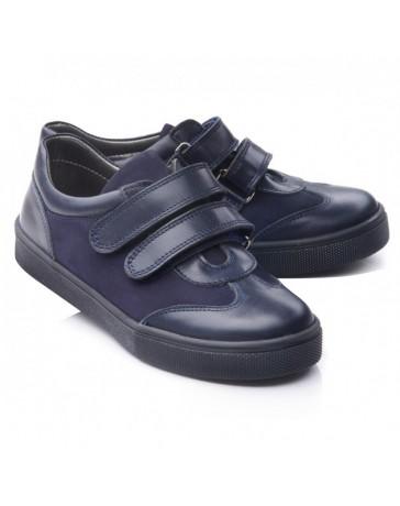 Ортопедические кроссовки-туфли-мокасины Theo Leo RN757 р. 31-40 Синие