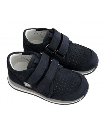 Ортопедические кроссовки Perlina 4.001 р. 21-25 Синий нубук