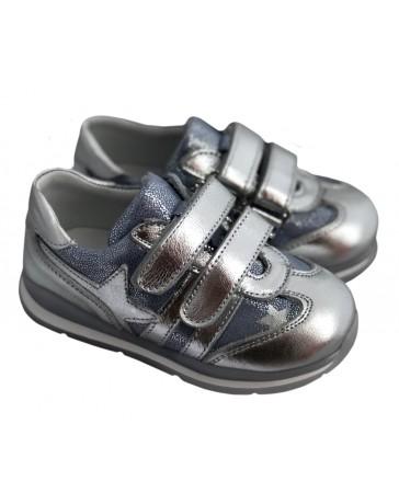 Ортопедические кроссовки Perlina 4.002 р. 21-25 Серебро