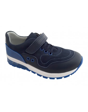 Ортопедические кроссовки Perlina 105SINIY1LIP р. 31-36 Синий с голубым