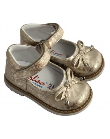 Ортопедические туфли Perlina 58.001 р. 21-25 Золото