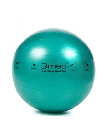 Фитбол, гимнастический мяч Qmed ABS Gym Ball 65 см Зеленый