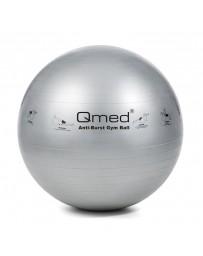 Фитбол, гимнастический мяч Qmed ABS Gym Ball 85 см Серый