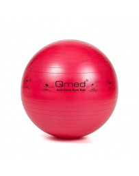 Фитбол, гимнастический мяч Qmed ABS Gym Ball 55 см Красный
