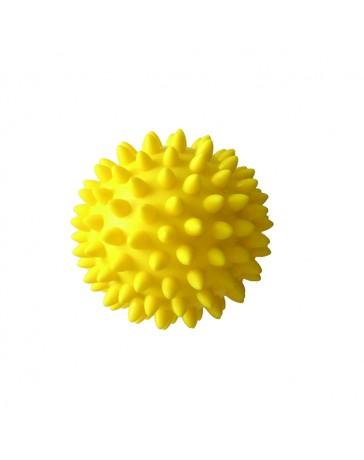 Массажный мяч 8 см, жёлтый Qmed Massage Balls