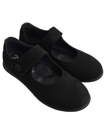 Ортопедические туфли Perlina 28NUBUK р. 31-36 Черный