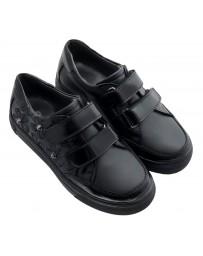 Ортопедические туфли-кеды Perlina 28KED р. 31-36 Черный