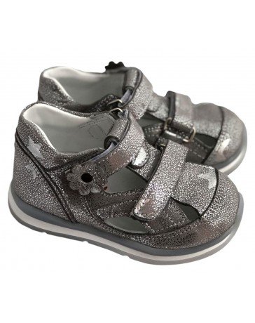 Ортопедические туфли Perlina 23.003 р. 21-25 Серебристый