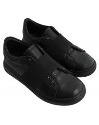 Ортопедические туфли-кеды Perlina 38REZ р. 31-39 Черный
