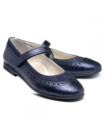Ортопедические кроссовки Theo Leo RN975 р. 33-39 Темно-синие