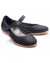 Ортопедические туфли Theo Leo RN789 р. 26-38 Черные