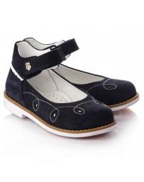 Ортопедические туфли Theo Leo RN655 р. 26-33 Темно-синие