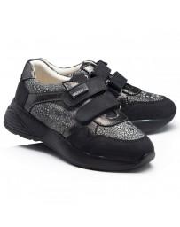 Ортопедические кроссовки Theo Leo RN946 р. 31-40 Серо-черные